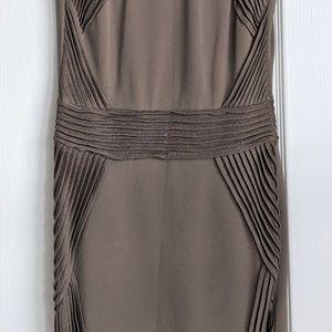Antonino Valenti Dresses - Antonino Valenti Olive Green Pleated Dress